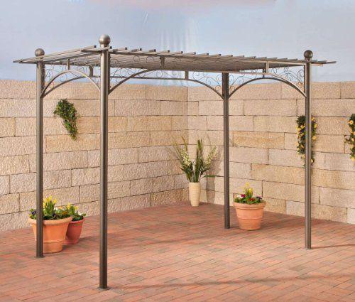 clp metall pergola pavillon ulpgar 01 a aus beschichtetem eisen gr e 310 x 186 cm h he 228. Black Bedroom Furniture Sets. Home Design Ideas