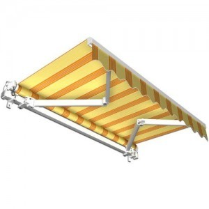 Stabile-Aluminium-Markise-Alu-Gelenkarmmarkise-Markisen-f-Terrasse-Garten-o-Balkon-TV-geprft-0