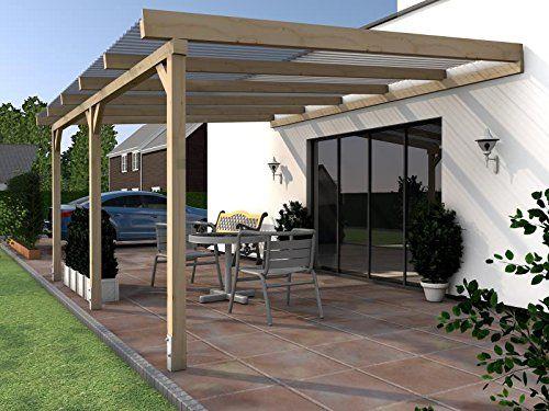 terrassen berdachung terrassendach vordach 700x300cm. Black Bedroom Furniture Sets. Home Design Ideas